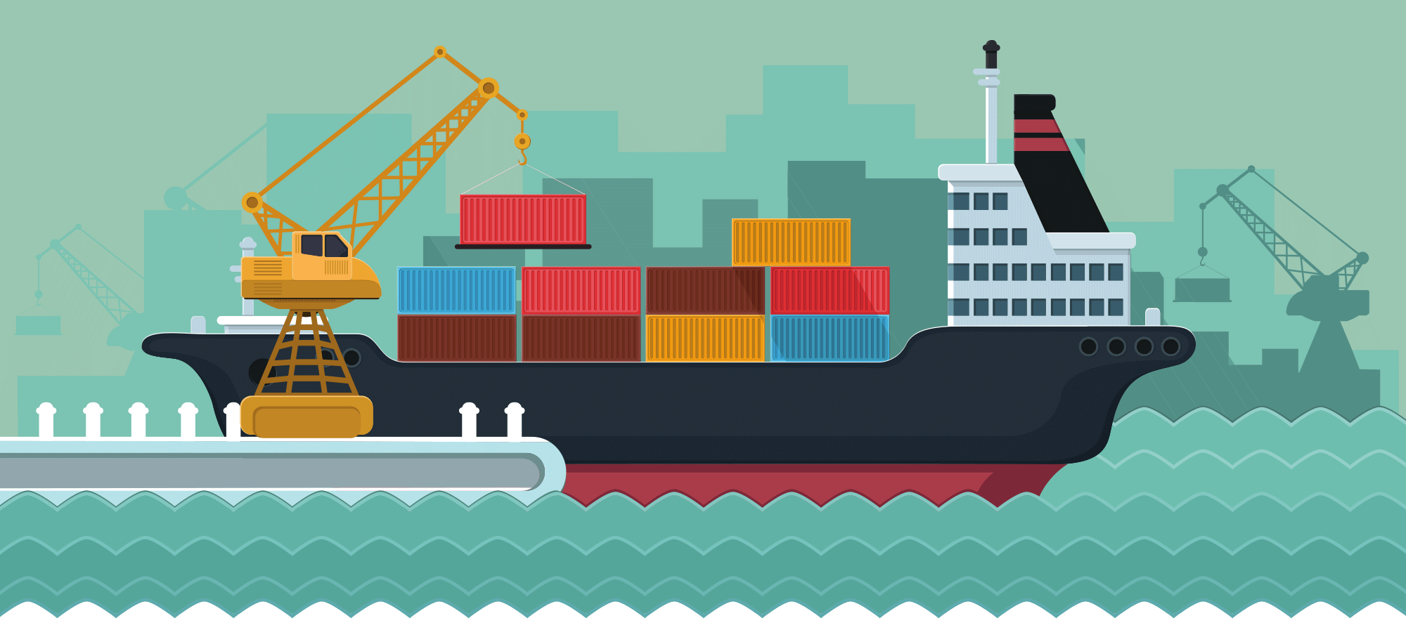 Cargo Shipping For Import and Export Business