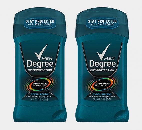 Dry Antiperspirant Deodorant
