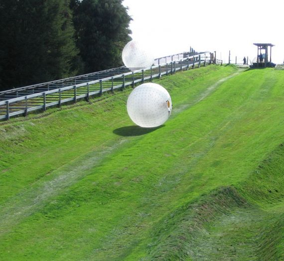 Zorbing An Alternative Cure for the Winter Blues